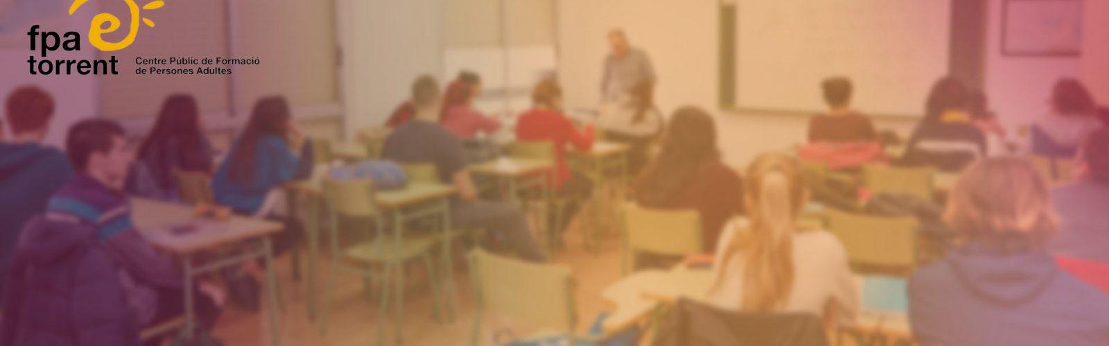 Horaris dels cursos d'Idiomes 2020-2021